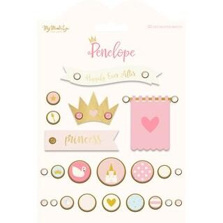 Penelope Decorative Brads 24/Pkg-