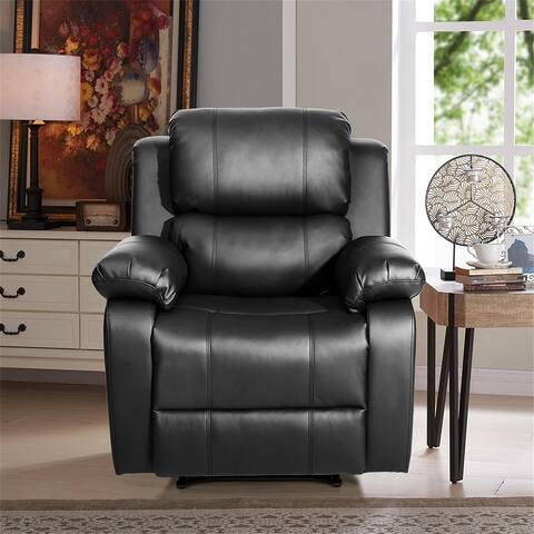 Heated Massage Recliner Sofa Ergonomic Lounge with 8 Vibration Motors