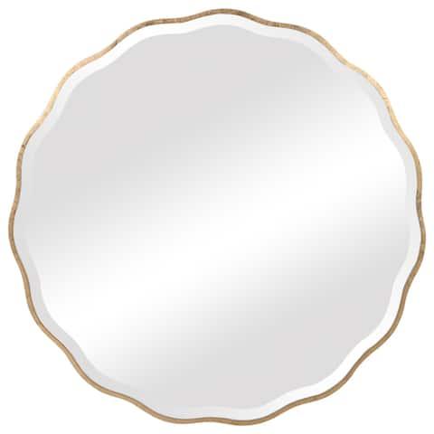 Uttermost Aneta Gold Round Mirror