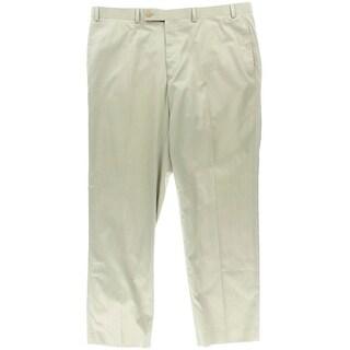 Lauren Ralph Lauren Mens Twill Flat Front Dress Pants