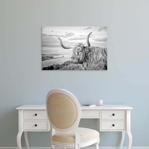 Easy Art Prints Joe Reynolds's 'Highland Cows IV' Premium Canvas Art