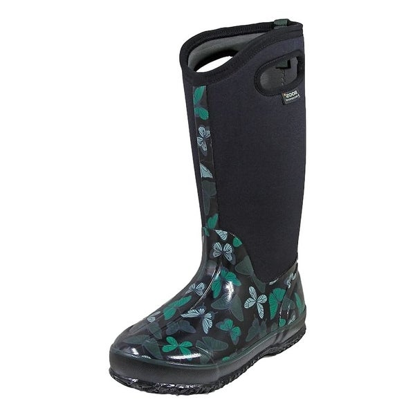 Bogs Outdoor Boots Womens Classic Butterfly Rubber Waterproof