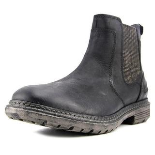 Rockport UR Chelsea Men  Round Toe Leather Black Boot