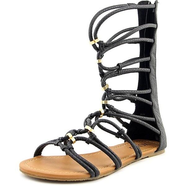 XOXO Womens Gizella Open Toe Casual Gladiator Sandals