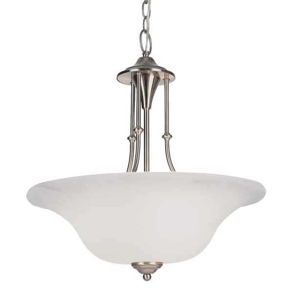Trans Globe Lighting PL-6543 Payson 3 Light Fluorescent Full Sized Foyer Pendant