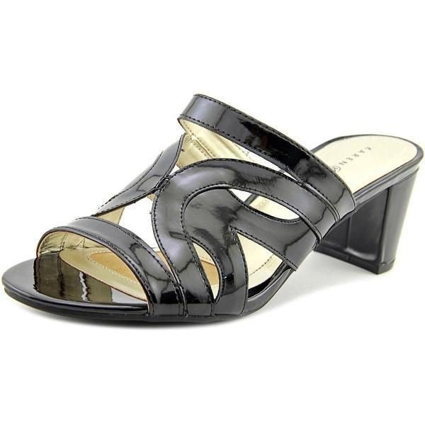 Karen Scott Daere   Open Toe Synthetic  Sandals