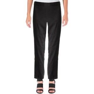 DKNY Womens Dress Pants Classic Fit Linen - 8