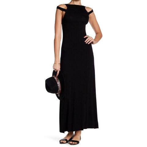 Clayton Womens Medium Cut Out Shoulder Maxi Dress