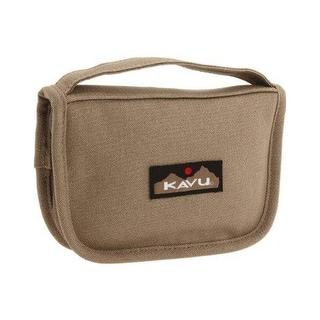 Kavu Odds & Ends Wallet Clutch Bag Pyrite 968-04 - Brown