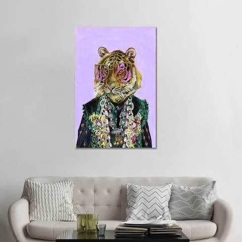 """iCanvas """"Gucci Bengal Tiger"""" by Heather Perry Canvas Print"""