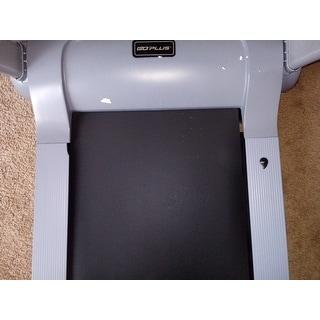 Goplus 2.05HP Portable Folding Electric Treadmill Run Fitness Machine Home Gym - Gray