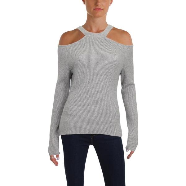 3ca8eb12e12 Shop Zoe Jordan Womens Pullover Sweater Wool/Cashmere Cold Shoulder ...