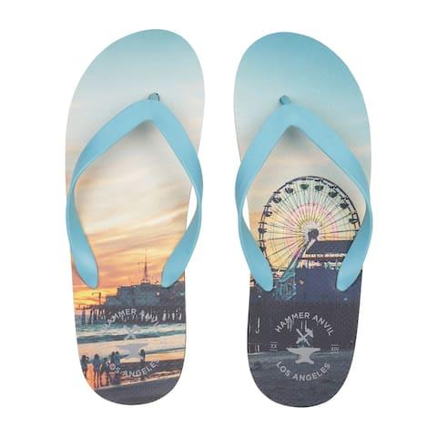 Hammer Anvil Mens Flip-Flops Summer Sandals