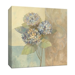 """PTM Images 9-152514  PTM Canvas Collection 12"""" x 12"""" - """"Damask Hydrangea"""" Giclee Hydrangeas Art Print on Canvas"""