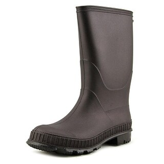Max + Jake Carters Youth Round Toe Synthetic Black Rain Boot