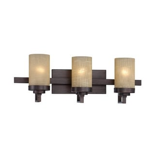Designers Fountain 83603 3 Light Bathroom Fixture from the Castello Collection