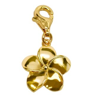 Julieta Jewelry Plumeria Flower Clip-On Charm