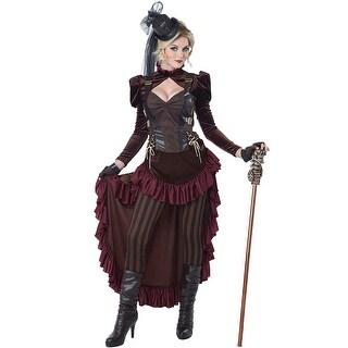 Victorian Steampunk Hottie Costume, Hoty Steampunk Costume