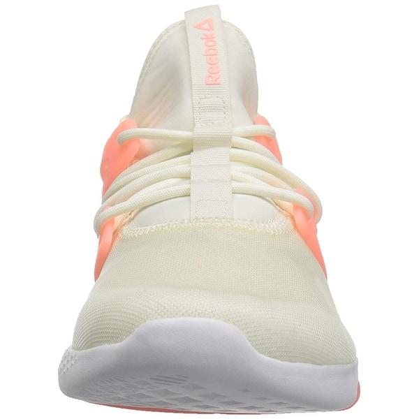 Shop Reebok Womens Hayasu Ultraknit Low Top Slip On Fashion Sneakers ... 004c3a76a
