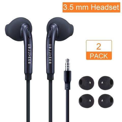 OEM Stereo Earphones (EO-EG920) w/Microphone, Volume Control & Extra Ear Gels for Samsung S7/S7 Edge, S6/S6 Edge