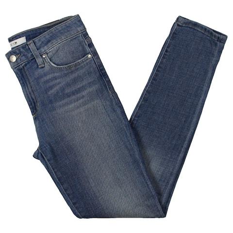 Joe's Womens Wolcott Ankle Jeans Denim Mid-Rise - Blue