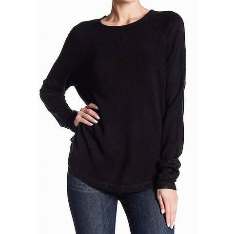 Sweet Romeo Women's Raglan Sleeve Crewneck Sweater $25