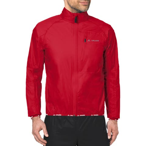 Vaude Drop Biking Rain Jacket III - Red