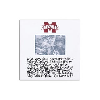 Mississippi State University Definition of a Fan Picture Frame