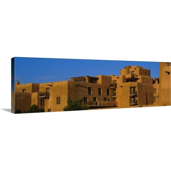 Canvas Santa Fe >> Shop Premium Thick Wrap Canvas Entitled Hotel In A City Santa Fe
