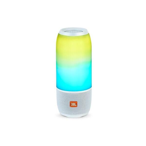 JBL Pulse 3 White Portable Bluetooth Speaker