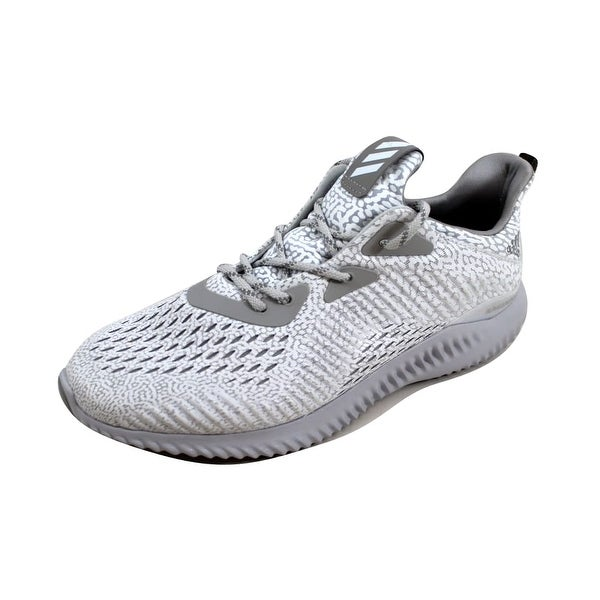 05d6f0db7f0f2 Shop Adidas Women s Alphabounce AMS W Clear Grey Multi Solid Grey ...