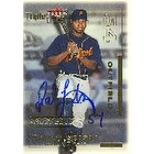 Rodney Lindsey Detroit Tigers 2001 Fleer Triple Crown Prospects Autographed Card  This item comes w