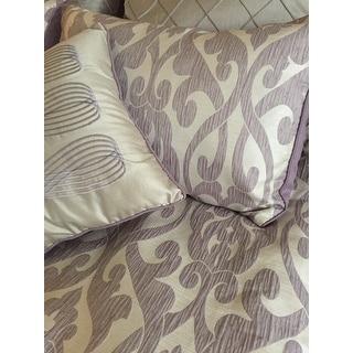 Amraupur Overseas Alina Floral Damask 8-piece Comforter Set