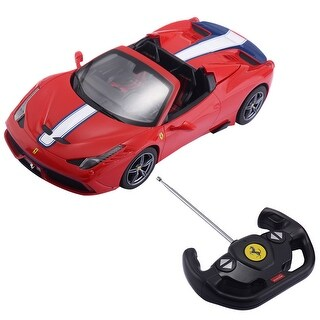 Costway 1:14 Ferrari 458 Speciale A Licensed Radio Remote Control RC Car w/ Lights&Sound