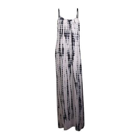Raviya Women's Lattice Back Maxi Dress Coverup