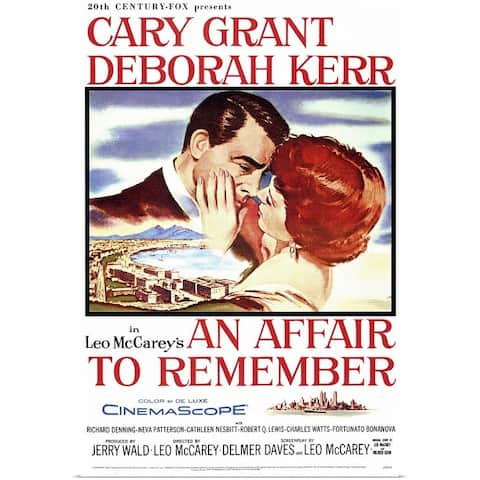 """""""An Affair to Remember (1957)"""" Poster Print"""