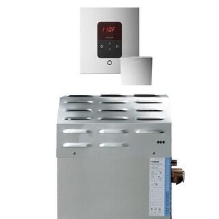 Mr Steam S2EC1ITEMPOSQ 12kW Steam Bath Generator with iTempo Square Control - Polished chrome - N/A
