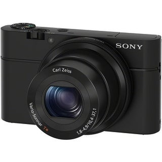 Sony Cyber-shot DSC-RX100 Digital Camera (Black)