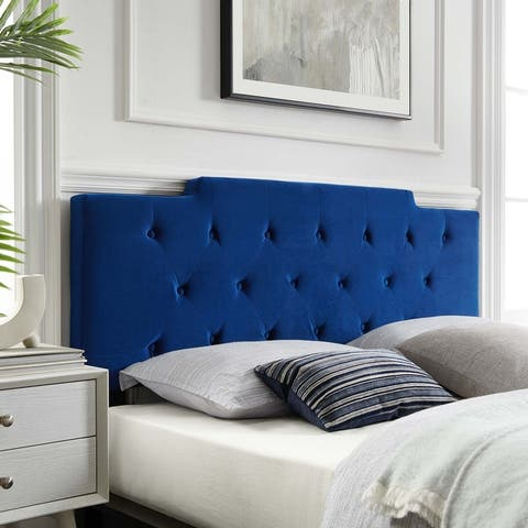 Juliet Tufted Full/Queen Performance Velvet Headboard