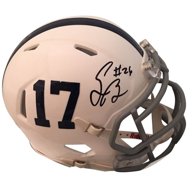 97bc8a3aa Shop Saquon Barkley Autographed Penn State St Nittany Lions Signed Football  Mini Helmet PSA DNA COA - Free Shipping Today - Overstock.com - 24102870