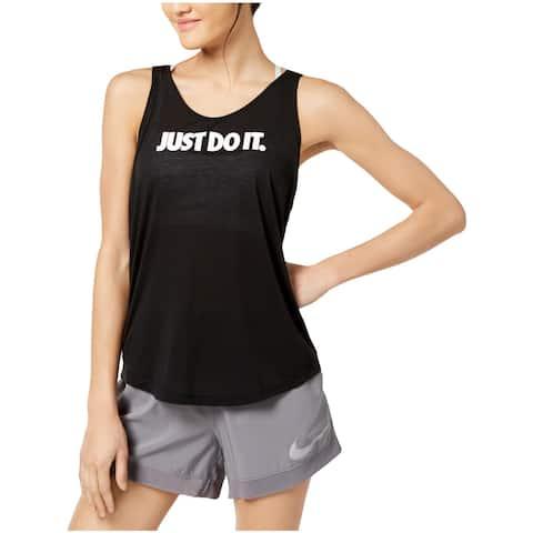 Nike Womens Breathe Tank Top Fitness Workout