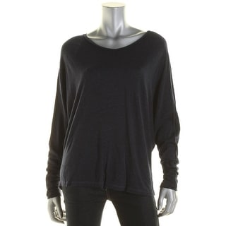 Sundry Womens Juniors Pullover Top Dolman Stretch