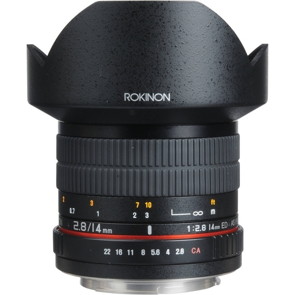 Rokinon 14mm f/2.8 IF ED UMC Lens For Canon EF - Black