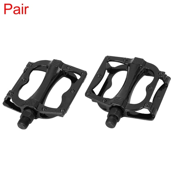 Pair Bicycle Pedal 9/16'' Spindle Platform Pedals Black for Road Mountain Bike. Opens flyout.