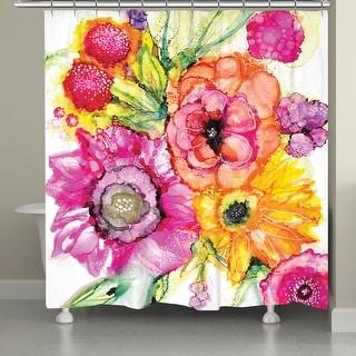 Summer Florals Shower Curtain