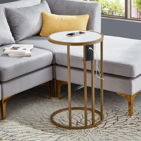 Everleigh Portable C Table End Table Side Table