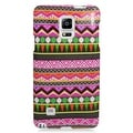 Insten Colorful Elegant Tribal Hard Snap-on Rubberized Matte Case Cover For Samsung Galaxy Note 4 - Thumbnail 2