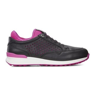 Ecco Womens Golf Speed Hybrid Black/Raspberry 41 Euro 10-10.5 YAK Shoes