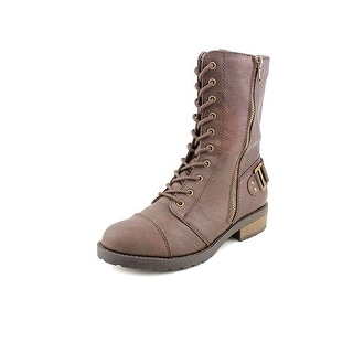 White Mountain Women Fiord Military Combat Boots