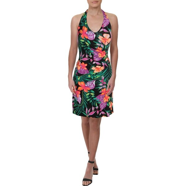 5eebd345888 Shop Tommy Bahama Womens Marabella Blooms Casual Dress Halter Floral ...